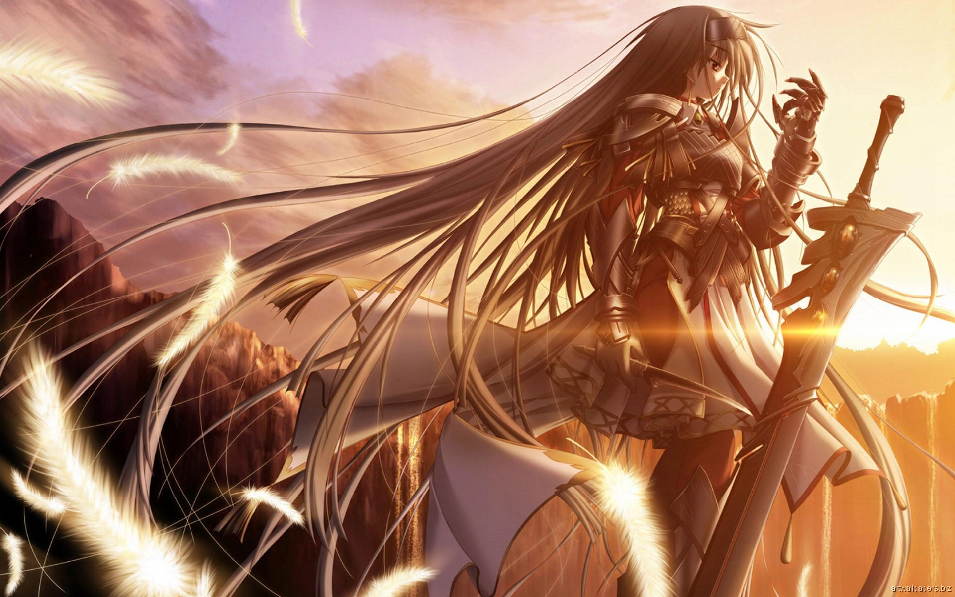 Beautiful anime wallpapers stress effect - Anime background ...