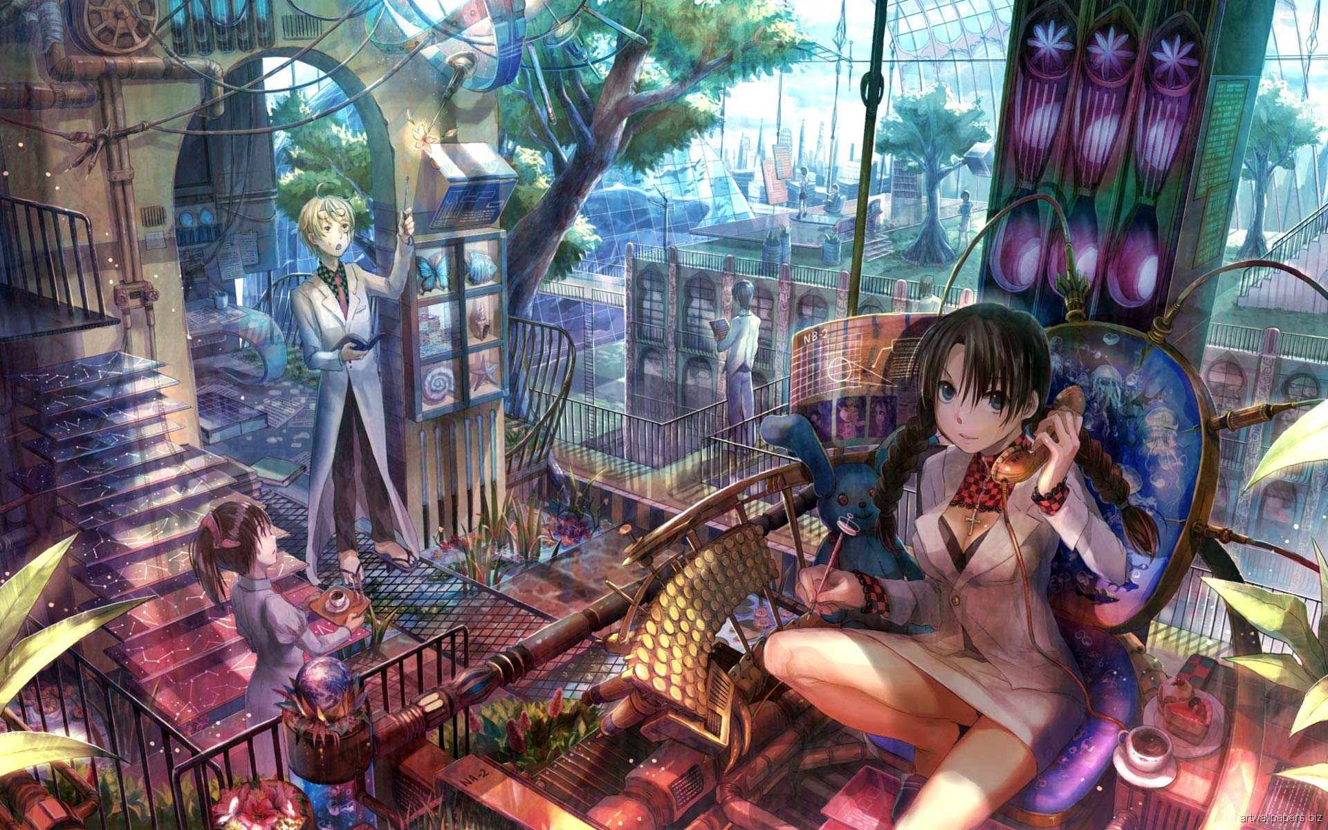 Beautiful Anime Wallpapers Stress Effect
