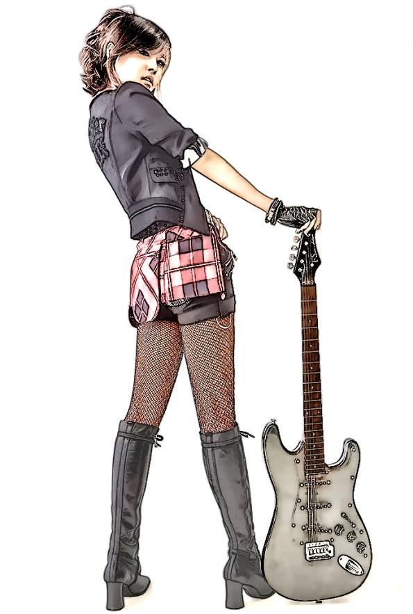 Asian Rocker